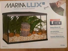 Marina Lux LED Aquarium Kit 19lt + filter