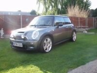 BMW 2006 MINI COOPER S EURO4 1.6 GREAT CAR VERY VERY TIDY F/S/HISTORY 1 YEARS MOT