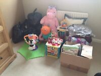 Carboot / Job lot kids toys, clothes + other household items