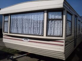 Willerby Leven FREE DELIVERY double glazed central heating 35x12 2 bedrooms offsite static caravan