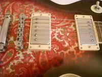 Tokai NLS80PR Paisley Love Rock electric guitar - Japan - '02- NOS - Gibson Les Paul Standard homage