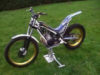 sherco 250cc 2011 trials bike