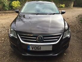 Volkswagen CC GT Bluemotion with two-tone Nappa Leather