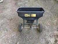 Agri fab lawn tractor spreader