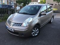 NISSAN NOTE 1.6 acenta AUTOMATIC 2007/57 LOW MILEAGE