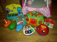 Collection of baby / kids electronic toys