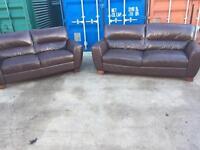 Stunning 3+2. Leather Sofa