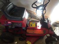 Toro tractor electric start