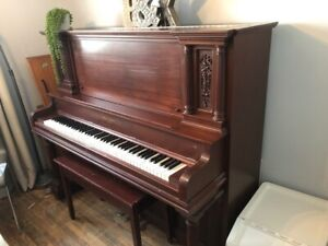 Piano including delivery