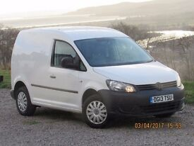 2013 VOLKSWAGEN CADDY C20 TDI 75, 1 OWNER, BEEN SERVICED, THIS VAN IS VERY CLEAN