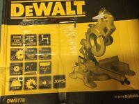 DeWALT mitre chop saw