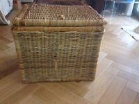 Large Wicker Basket - use for Laundry or Storage