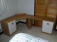 Retro Stag Tempo Bedroom Furniture. Bedside cabinets & Dressing Table, Desk Units