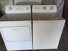 American Style Washing Machine and Tumble Dryer