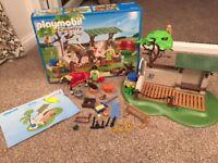 Playmobil 5225 pony (horse) farm care station as new