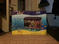 54L Aquarium / Fish Tank with Light and Filter in Great Condition
