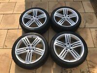 VW Golf Mk6 R genuine Talladega wheels and Maxxis tyres
