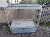 TEVO van racking storage shelving unit, not Bristor, sortimo, bott, h modul, for garage, workshop