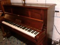 HOPKINSON OVER STRUNG PIANO RECENT RE POLISH CAN DELIVER £220 7 OCTAVE