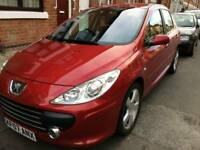 Peugeot 307 1.6 Automatic, Petrol, Hatchback, Low Mileage