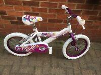 New never used 16inch Girls Huffy Bike - Less than Half original selling price