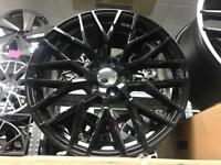 "4 19"" alloy wheels alloys rims tyre tyres audi Vw Volkswagen seat Skoda 5x112"