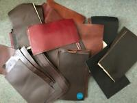 Mixed Leather sample squares
