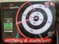 Archery and darts set new