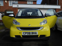 Smart fortwo 1.0 Passion Yellow VGC