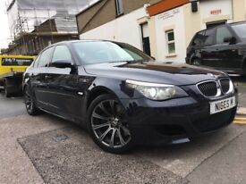BMW M5 2007 FACELIFT SALOON NEW MOT 13 STAMPS FULL HISTORY LCI LIGHT RECENT CLUTCH BY BMW