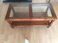 DUCAL SOLID WOOD COFFEE TABLE