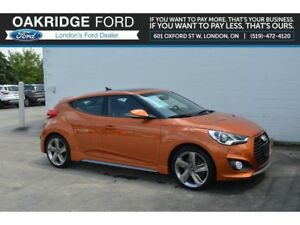 2014 Hyundai Veloster 3DR CPE MAN - NAVIGATION- MOONROOF- LEATHE
