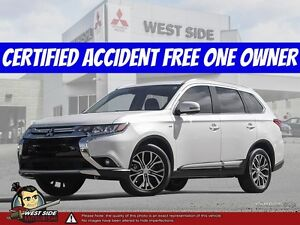 2016 Mitsubishi Outlander GT–Accident Free–One Owner–SiriusXM–3.