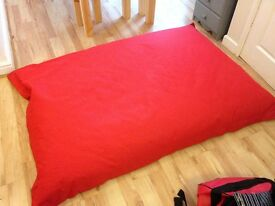 Large/Giant Red Bean Bag