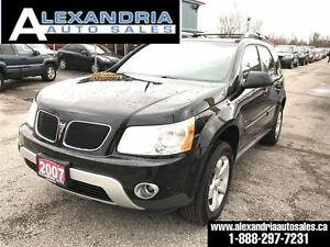 2007 Pontiac Torrent Sport certified & w test