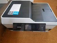 Brother A3 / A4 printer with lots of spare cartridges