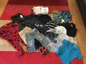 Bundle of Boys Clothes 9-24 months *36 items*