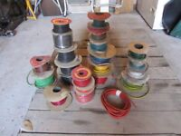 20 drums of auto electrical cables