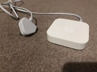 Apple Airport Express Router Base Station (A1392) - Supports AirPlay and USB