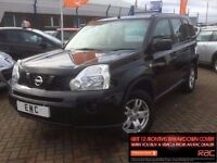 2008 58 NISSAN X-Trail 2.0dCi 148 TREK**2 KEYS**BLACK DCI**LOVELY
