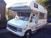 1992 Hymer Motorhome CamperVan 2.5 Diesel 93,000 Miles Power Steering Full MOT