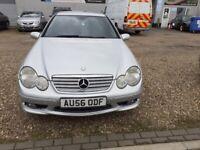 Mercedes-Benz, C CLASS, Coupe, 2006, Semi-Auto, 1796 (cc), 3 doors