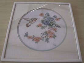 Vintage Embroidery in Frame