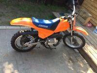 Py 80 not Yamaha pw80. Motocross