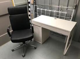 Ikea ps desk bureau drink cabinet make up table in