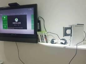 Xbox360 60gb & 10 games