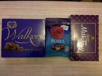 Only 2 lots of chocs left for mothers day ONLY £5 POUNDS each WRAPPED