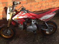 Honda crf50. 50cc semi automatic 3 gears