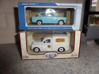 COLLECTABLE MODEL MORRIS MINOR VAN / FORD ANGLIA