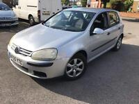 2005 VW GOLF 1.4 S AIR CON ALLOYS NEW TIMING BELT FITTED